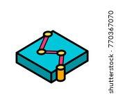 data   graphs iso   scatter... | Shutterstock .eps vector #770367070
