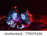 children and leisure concept.... | Shutterstock . vector #770374150