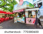 papeete  french polynesia  ... | Shutterstock . vector #770380600