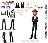 jew create character set | Shutterstock .eps vector #770382100