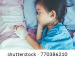 top view. closeup of illness... | Shutterstock . vector #770386210