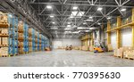 concept of warehouse. the... | Shutterstock . vector #770395630