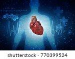 3d illustration  anatomy of... | Shutterstock . vector #770399524