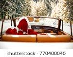 Santa Claus In Cabriolet....