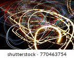 color magic line. abstract...   Shutterstock . vector #770463754