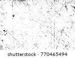 grunge black and white pattern. ... | Shutterstock . vector #770465494