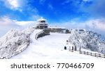 deogyusan mountains is covered... | Shutterstock . vector #770466709