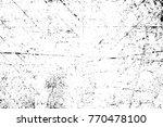 grunge black and white pattern. ...   Shutterstock . vector #770478100