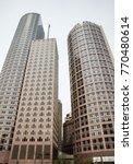 massachusetts skyline towers | Shutterstock . vector #770480614