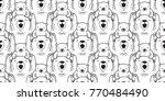 bear polar bear teddy icon... | Shutterstock .eps vector #770484490