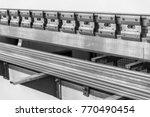 metal cutting machine tools... | Shutterstock . vector #770490454