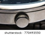 wrist watch silver metal | Shutterstock . vector #770493550