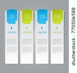 business infographic template... | Shutterstock .eps vector #770506588