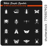 insects web icons for user... | Shutterstock .eps vector #770507923
