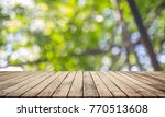 wood plank with abstract... | Shutterstock . vector #770513608