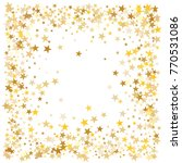 gold sparkling background with... | Shutterstock .eps vector #770531086