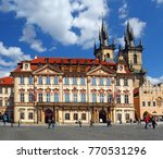 prague  czech republic   april... | Shutterstock . vector #770531296