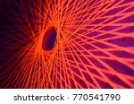 Fluorescent String Art Under...
