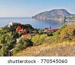 "view to cape plaka  sanatorium ""...   Shutterstock . vector #770545060"