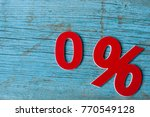 sign  percent symbol discount... | Shutterstock . vector #770549128