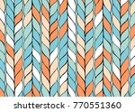 background with diagonal braids.... | Shutterstock .eps vector #770551360
