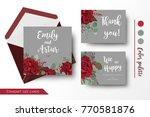wedding invite  invitation ... | Shutterstock .eps vector #770581876