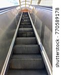electric stairs without people | Shutterstock . vector #770589178