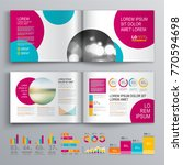 business brochure template... | Shutterstock .eps vector #770594698