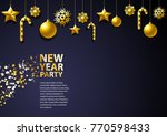 new year background. it can be... | Shutterstock .eps vector #770598433
