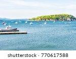 bar harbor  usa   june 8  2017  ... | Shutterstock . vector #770617588