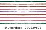 retro seamless watercolor... | Shutterstock .eps vector #770639578
