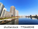 chuo  tokyo  japan november 29  ... | Shutterstock . vector #770668048