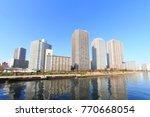 chuo  tokyo  japan november 29  ... | Shutterstock . vector #770668054
