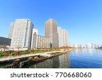 chuo  tokyo  japan november 29  ... | Shutterstock . vector #770668060