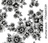 abstract elegance seamless... | Shutterstock . vector #770684539