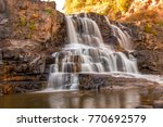 Gooseberry Falls in Duluth Minnesota along North Shore