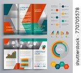 business brochure template... | Shutterstock .eps vector #770705578
