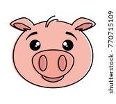 Cute Pig Emoji Kawaii