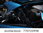 convertible car's system | Shutterstock . vector #770723998