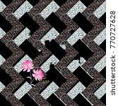 seamless abstract metal... | Shutterstock .eps vector #770727628
