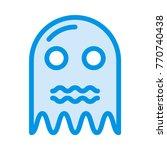 boo cute icon | Shutterstock .eps vector #770740438
