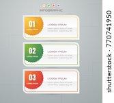 infographics design template ... | Shutterstock .eps vector #770741950