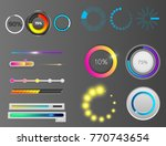 progress loading vector bar... | Shutterstock .eps vector #770743654