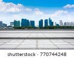 the beautiful cityscape   Shutterstock . vector #770744248