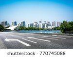 lake with city | Shutterstock . vector #770745088