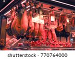 barcelona spain 2017 la... | Shutterstock . vector #770764000