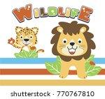 Wildlife Vector Cartoon...