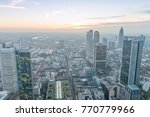 frankfurt  germany   october 31 ... | Shutterstock . vector #770779966