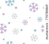 snowflake pattern  vector... | Shutterstock .eps vector #770780869