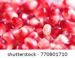 grains of ripe fresh